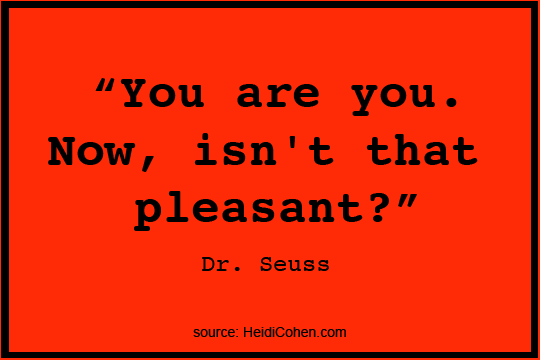 Dr. Seuss Quotes You Are the One Person to World