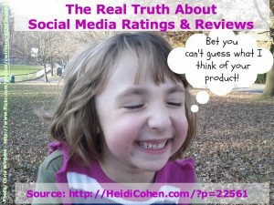 social media ratings and reviews