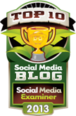 Social Media Examiner - Top 10 Social Media Blog, 2013