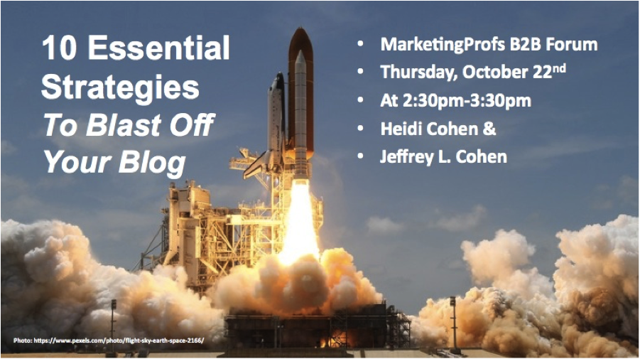 10 Essential Strategies To Blast Off Your Blog