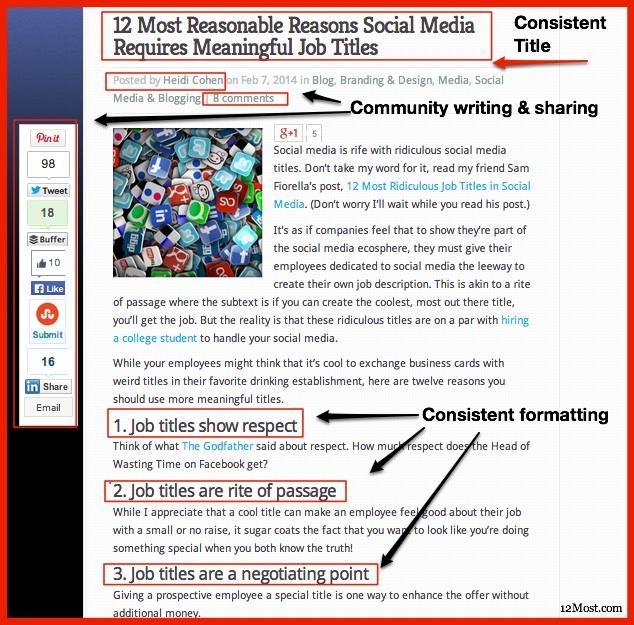 Easy blogging fixes - community