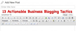 The Year of the Blog - 3 Reasons You Need a Blog Now
