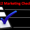 2012 Must Have Marketing Checklist