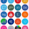 2012 Social Media Icons- Design Bolts