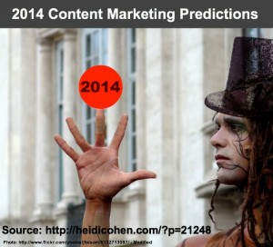2014 Content Marketing Predictions-Heidi Cohen