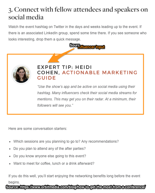 Make Blog Content Findable with Influencers