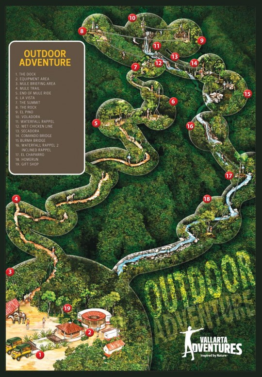 Vallarta Adventure Map