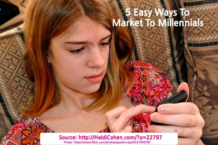 5 Easy Ways To Market To Millennials [Research]