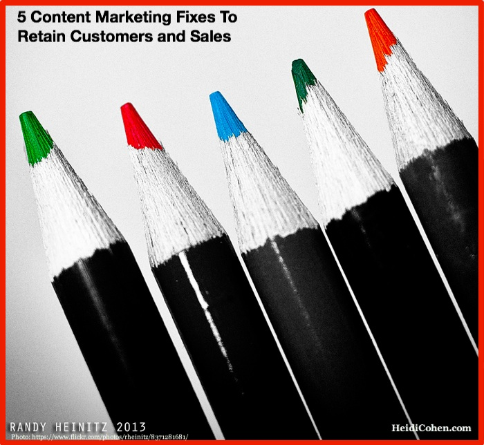 5 content marketing fixes