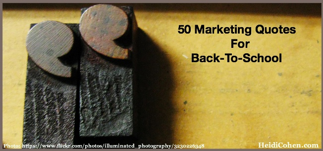 50 Marketing Quotes