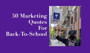 Heidi Cohen at NYU - 50 Marketing Quotes for Back to School