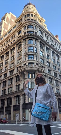 Heidi on Fifth Avenue