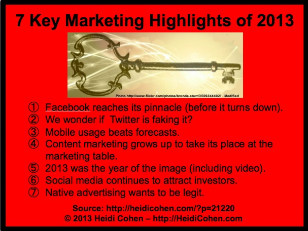 Social Media, Content Marketing and Mobile
