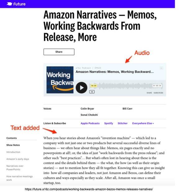 Amazon Narratives