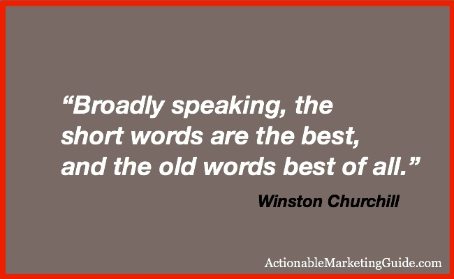 Actionable Marketing Guide-Winston Churchill-Quote