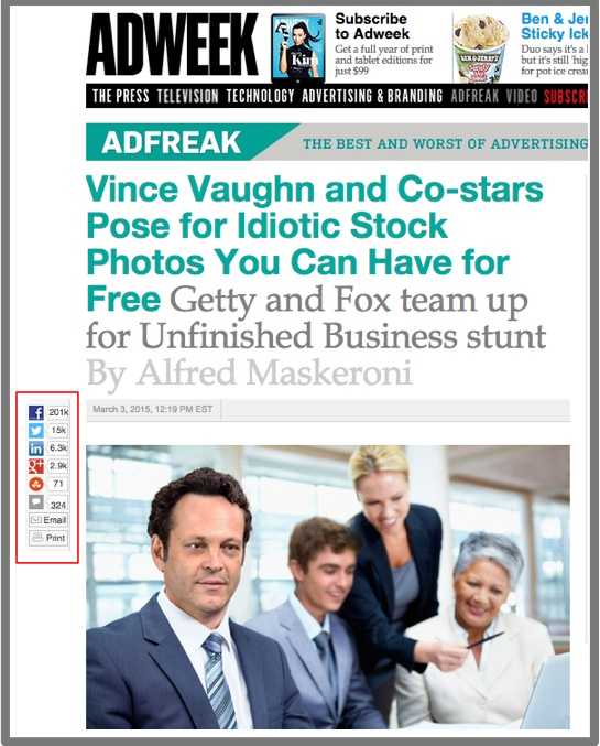 Visual Content Promotion-AdWeek