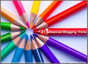 Advanced Blogging Tricks
