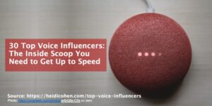 Top Voice Influencers - Voice Influencer Definition