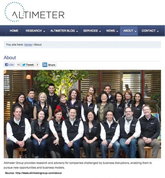Altimeter Team