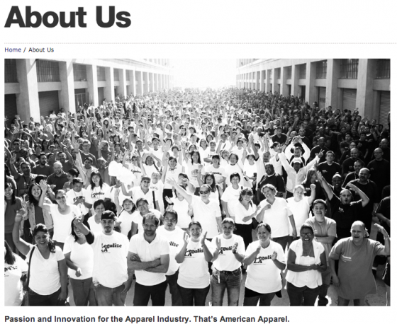 American Apparel - About Us