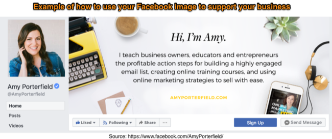Social Media Marketing Tip -Facebook Example