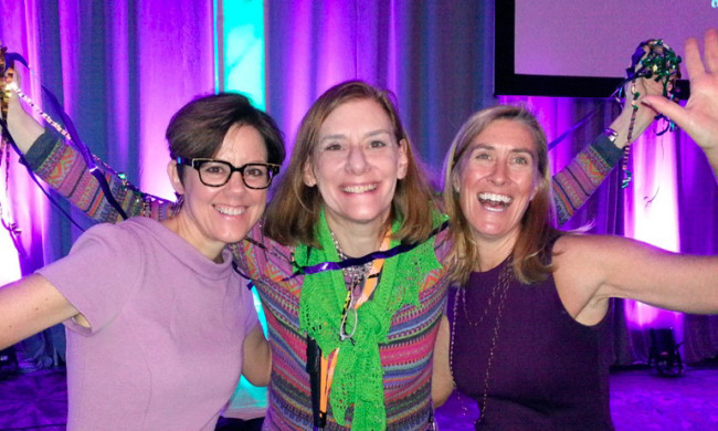 Ann Handley, Heidi Cohen, Julie Pildner at Marketing Profs B2B 2015