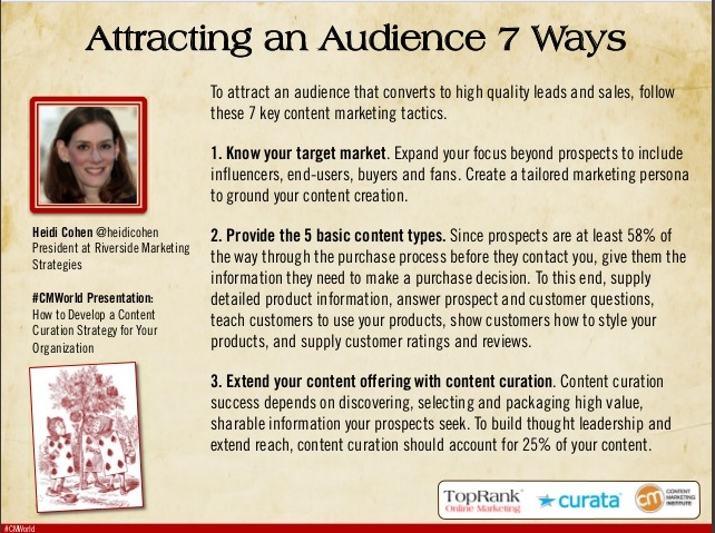 Audience Development for Content Marketing eBook #CMWorld-1-1
