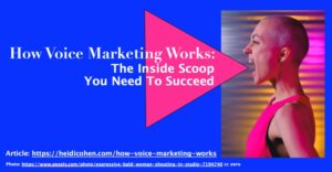 How Voice Marketing Works