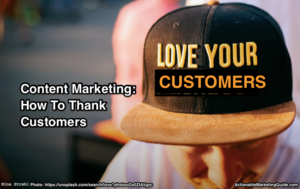 Show Thanks With Content Marketing