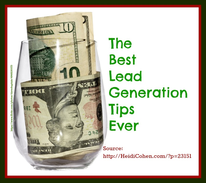 Best Lead Generation Tip