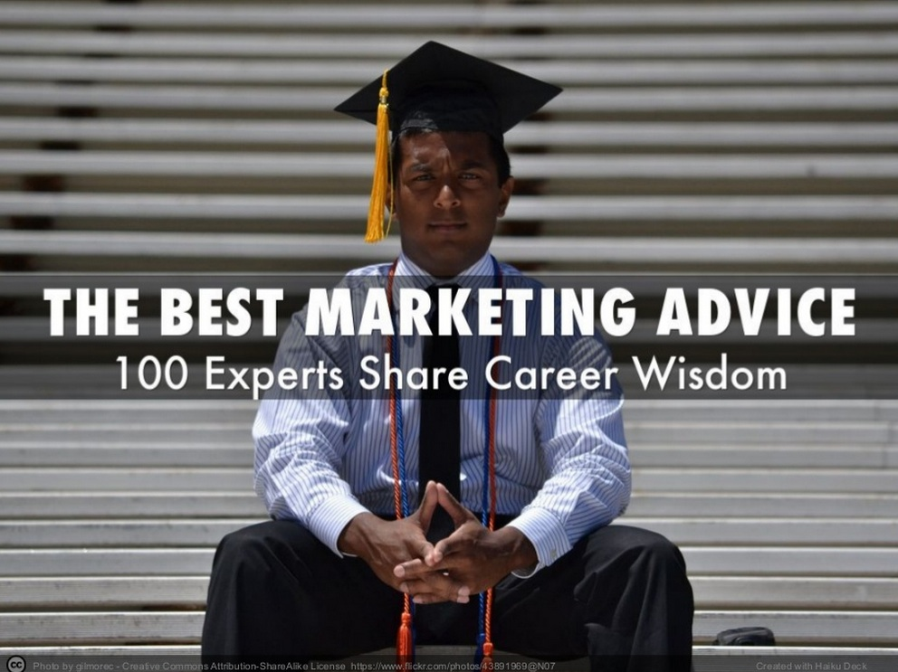 Best Marketing Advice For Recent Graduates - Heidi Cohen