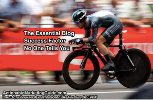 essential blog success factor