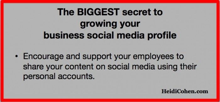 Biggest Secret to Grow SOcial Media Profile