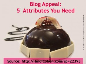 Blog Appeal-5 Attributes