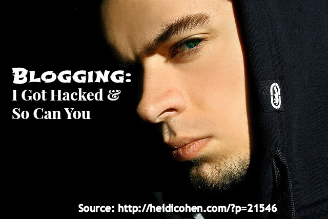 Blogging-I got hacked