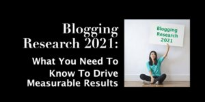 Blogging Research 2021
