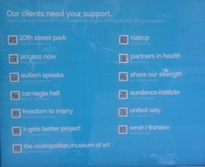 Blue State Digital Client QR Codes