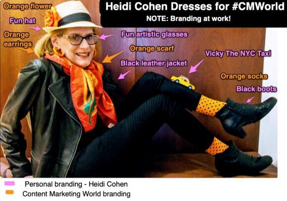 Personal Branding - Content Marketing World Tip-Heidi Cohen 2020