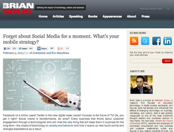 Brian Solis e1360824340328 14 Social Media Blogs You Should Love