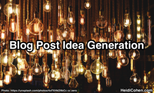 Blog Post Idea Generation