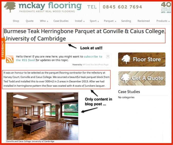 Burmese Teak Herringbone Parquet at Gonville & Caius College, University of Cambridge « McKay Flooring-1