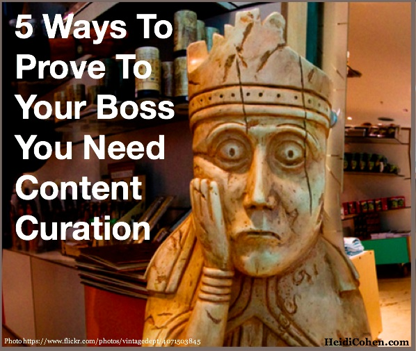How To Make The Business Case For Content Curation - Heidi Cohen