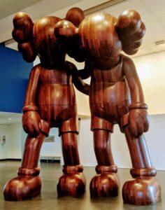 CAWS Sculpture at BAM