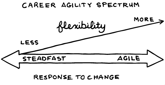 Agile Career spectrum