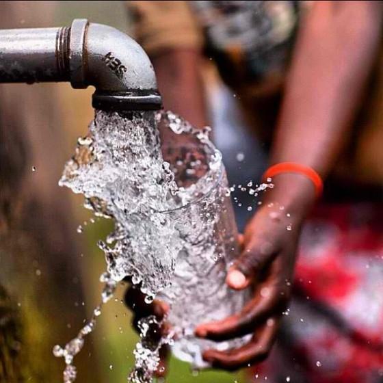Glass of water in Rwanda via Instagram