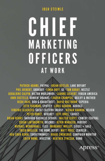 Chief Marketing Officers book cover