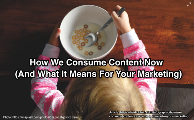 How We Consume Content Now (And What It Means For Your Marketing) [INFOGRAPHIC]