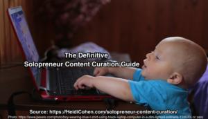 solopreneur content curation