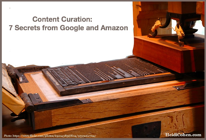 Content Curation Giants- Google - Amazon