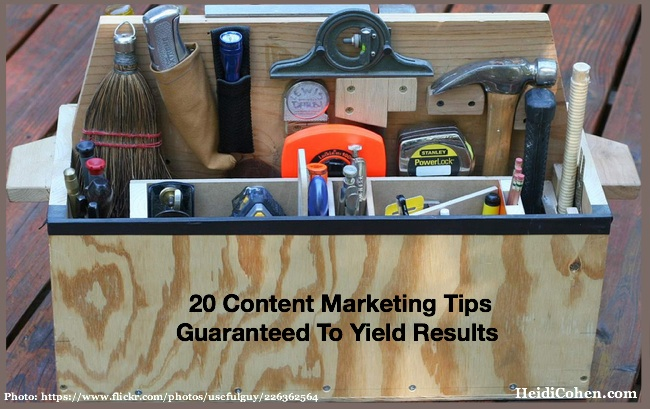 content marketing tactics guaranteed to yield results